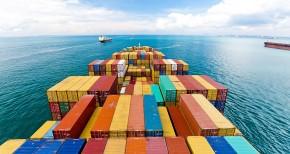 морски контейнер в транспорта